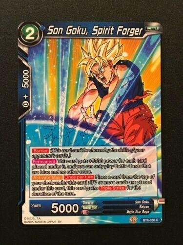 Common Spirit Forger BT6-030 C Blue Dragonball Super: Son Goku
