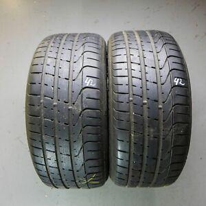2x-Pirelli-P-Zero-255-40-r19-96-W-Dot-1815-6-5-mm-Pneus-D-039-ete-Pneus