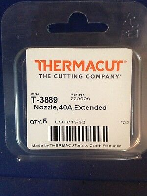 Item 103 Thermacut 220006 Nozzles for PMX1000//1250//1650//RT60//RT80 5-Pack