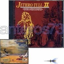 """JETHRO TULL """"II - LIVE AT FILMORE"""" RARE CD MADE IN ITALY - SEALED"""