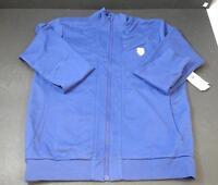 Men's K-swiss Purple Long Sleeved Jacket Cotton Blend Casual Sports Large G2