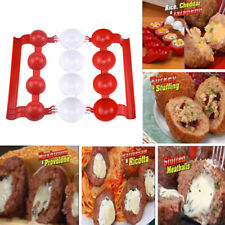9.4x2.6in Kitchen Non-Stick Meat Ball Maker Spoon Manual Meatballs Clip Utensil