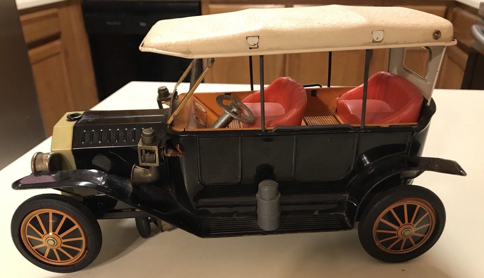 Oldtimer - modell ford modell t sch spielzeug batteriebetriebene tin toy
