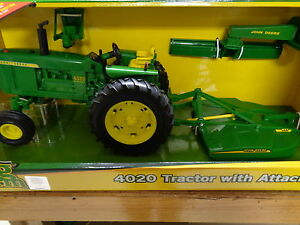 New john deere big farm series 4020 tractor w attachments 1 16 lp51312