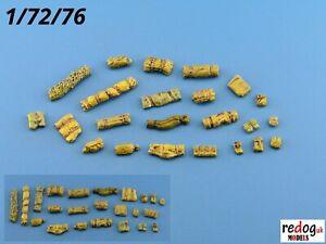 Redog-1-72-ou-1-76-Resine-Arrimage-Kit-diorama-accessoires-k3