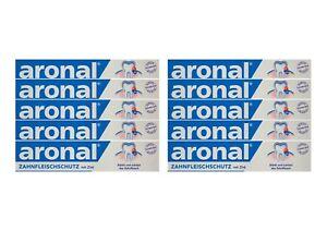 10x-aronal-Zahnpasta-75ml-Zahnfleischschutz-mit-Zink-PZN-9431782-elmex