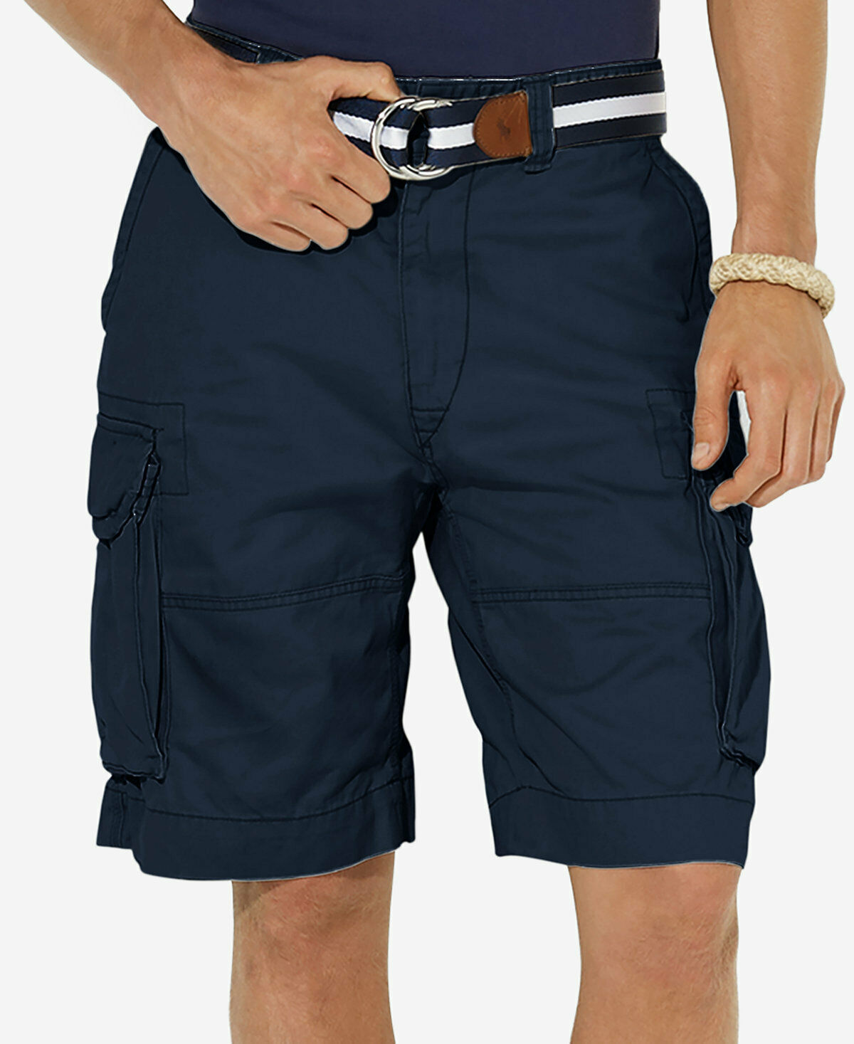 New Polo Ralph Lauren Classic Gellar Cargo Shorts, Aviator Navy, ALL SIZES