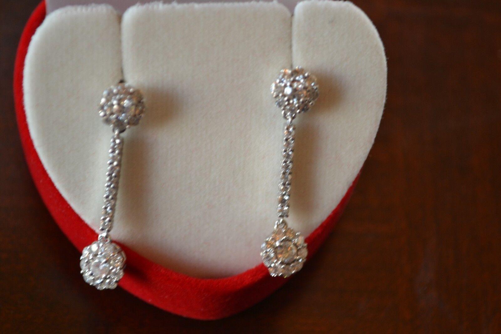 1.10 ctw Diamond Earrings in 14K gold