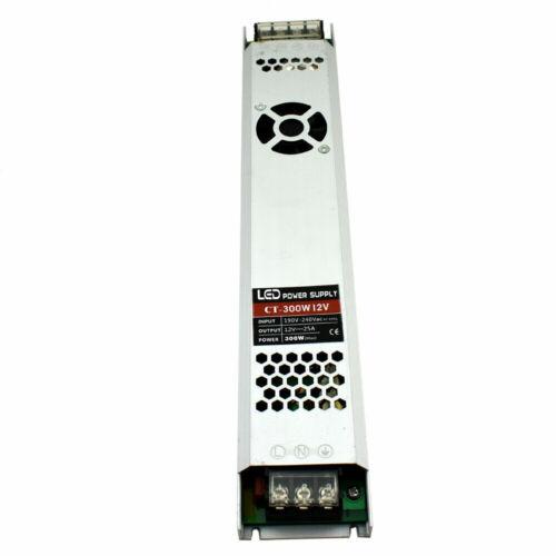 DC 12 V DEL Pilote de Puissance de commutation d/'alimentation Transformateur pour DEL Bande CCTV MR16 UK