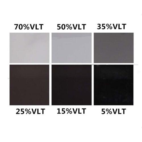 50cm*3M Black Glass Window Tint Film Shade VLT 15/% Scratch Resistant Membrane