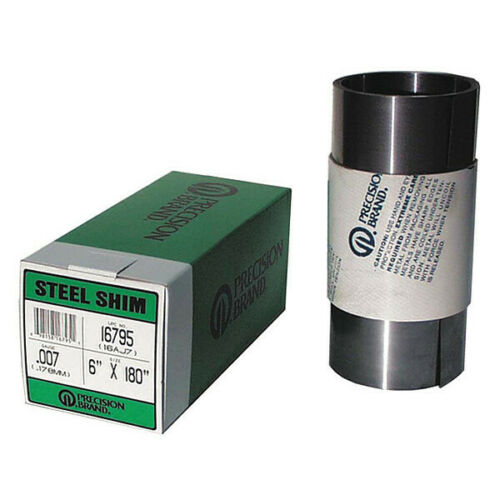 PRECISION-BRAND-16155-Shim-Stock-Roll-Cold-Low-Steel-0-0015-In