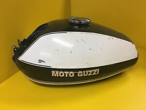 1975-MOTO-GUZZI-FUEL-GAS-TANK-USED-T-3-Police-Original