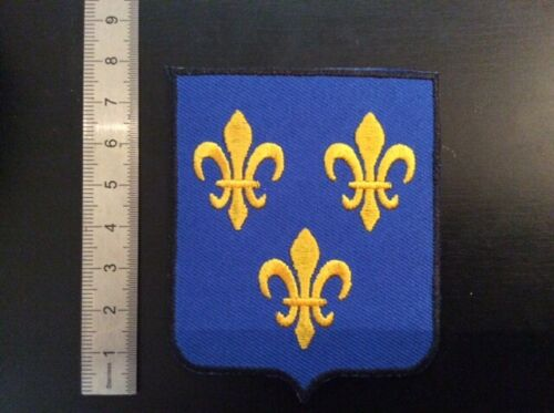 F013 PATCH ECUSSON BLASON ILE DE France