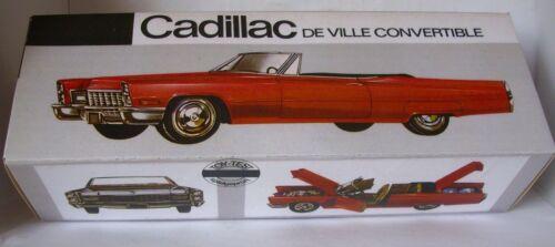 Repro Box Nutz Cadillac de Ville Convertible Blechspielzeug