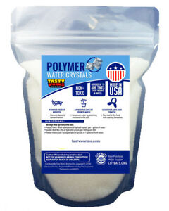 Bien 8 Oz (environ 226.79 G) Milieu De L'eau Absorbant Polymères Cristaux Soil Humide Cricket Made In Usa-afficher Le Titre D'origine Prix ​​Fou