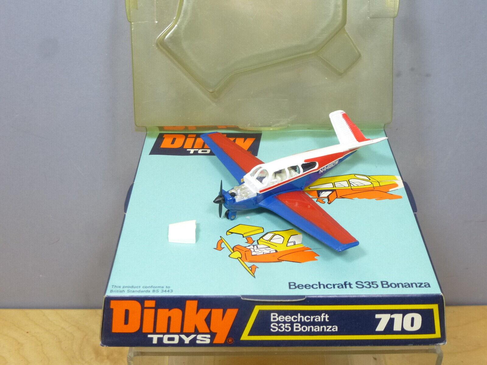 DINKY TOYS  MODEL No.710   BEECHCRAFT S35     BONANZA    AIRCRAFT           MIB