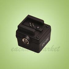 Flash Hot Shoe Adapter for any flashgun to Sony A Alpha Minolta camera FS-1100