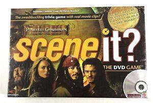 NIB-Factory-Sealed-Mattel-Scene-It-Pirates-Of-The-Caribbean-The-DVD-Game