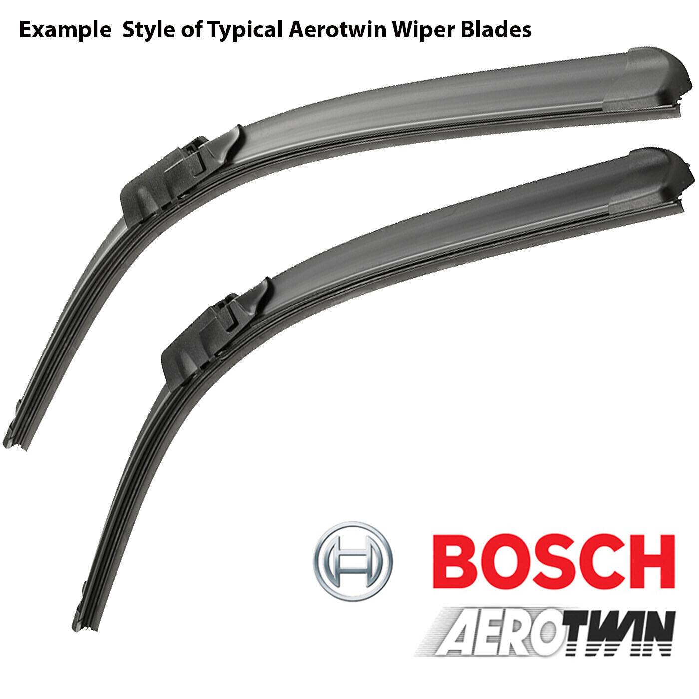 BOSCH 3397014141 AR141S Set of AEROTWIN RETROFIT Windscreen Flat Wiper Blades