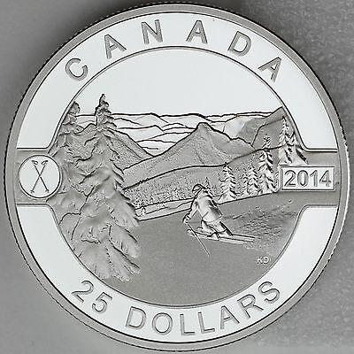 2013 Canada $25 Polar Bear 1oz O Canada Silver #2 Fine Silver Coin