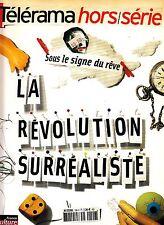 Telerama Hors/Serie La Revolution Surrealiste Henri Michaux Andy Warhol Wegman