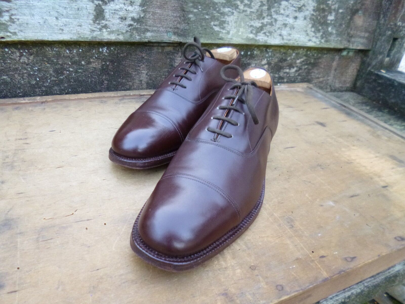 CHURCH VINTBGE OXFORD - BROWN - UK 9.5 (NBRROW) – MESSENGER – SUPERB CONDITION
