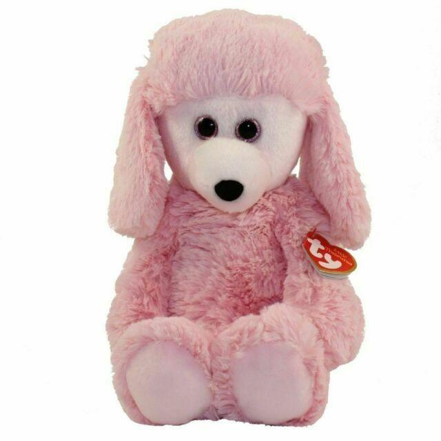 """PINK DOG Medium Plush 9/"""" TY Beanie Attic Treasures PRICILLA"""