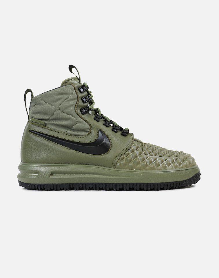 NEW  916682 202 Green shoes hi top NIKE LUNAR FORCE 1 DUCKBOOT MEN SIZE 8.5