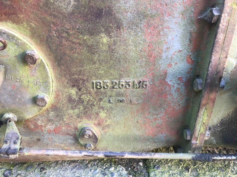 Gearkasse med bagtøj, Massey Ferguson T35
