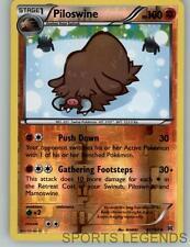 2015 pokemon Breakthrough reverse holo Piloswine 81/162