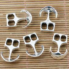 13pcs tibetan silver clasp connector for DIY bracelet making EF1481
