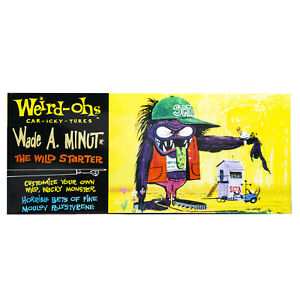Hawk Model Company Weird-Ohs Wade A. Minut The Wild Starter Monster Model Kit