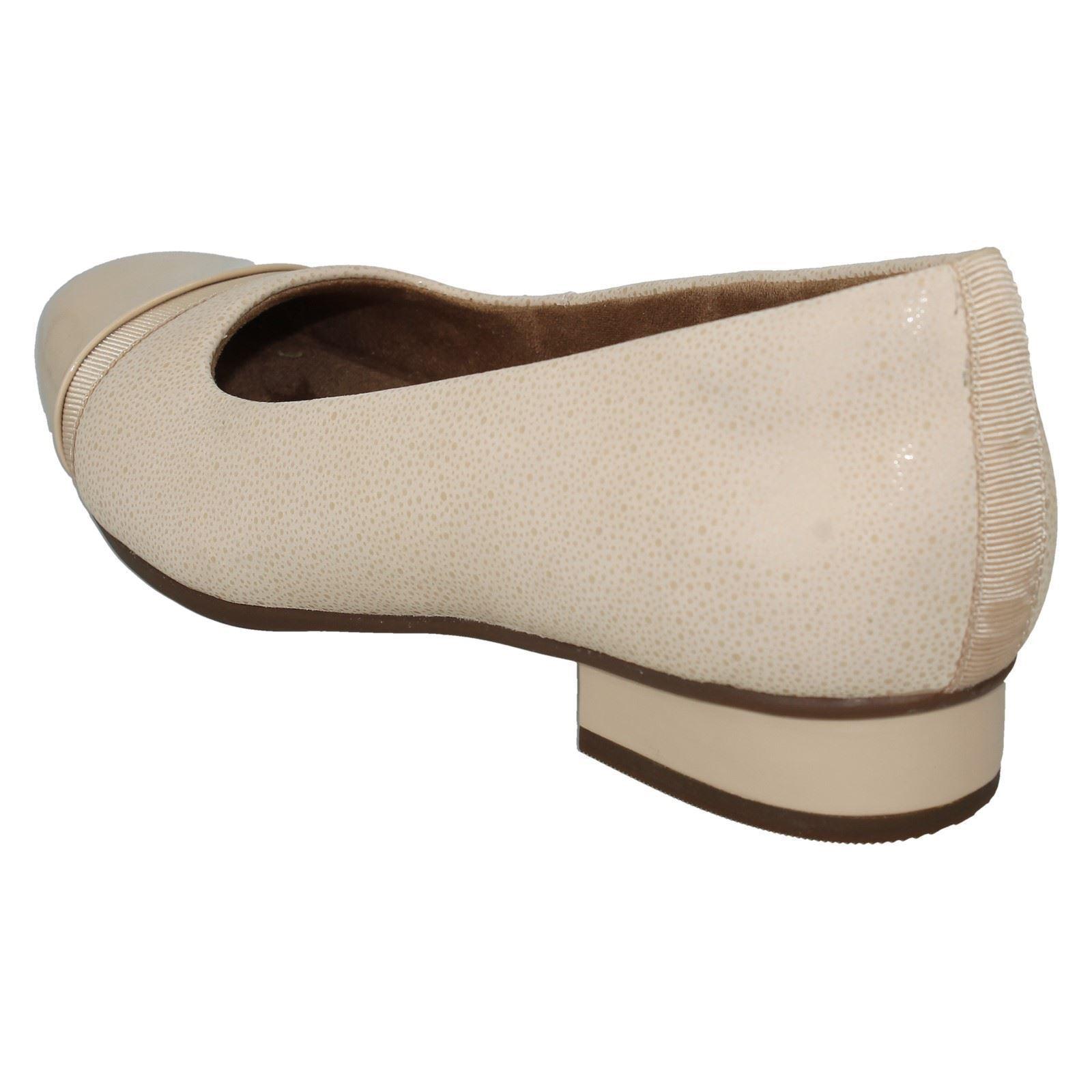 Keesha rose Femmes Femmes Femmes Clarks Slipon Non Structurées Cuir Plates Ballerine Escarpins Chaussures 6ce54c