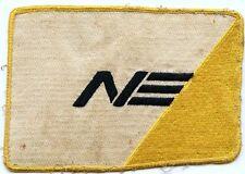 Large 1960's Northeast Airlines Uniform Patch