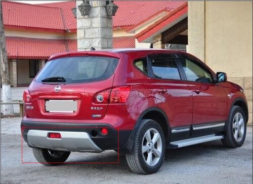 Front Rear Protector Bumper For 2007-2009 Nissan Qashqai Dualis PU 2p