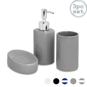 Bathroom Accessory Set 3 Pcs Soap