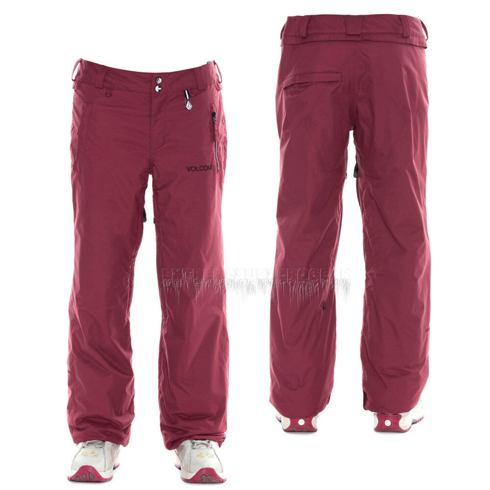 VOLCOM Womens 2014 Snowboard Snow Cabernet  GLADSTONE INSULATED PANTS  order now lowest prices