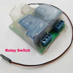 Q2 RC PWM 30A Remote Control Relay Switch for DIY RC Aircraft Car Tank Model New
