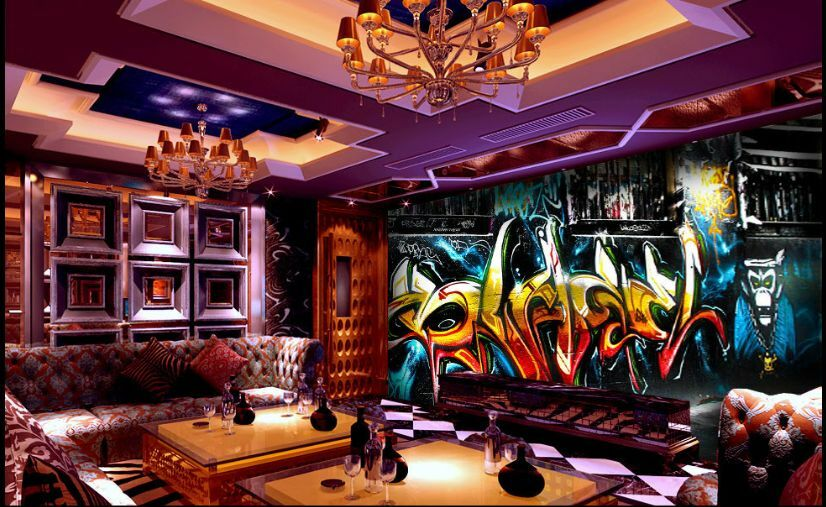 3D Graffiti Strokes 221 WallPaper Murals Wall Print Decal Wall Deco AJ WALLPAPER