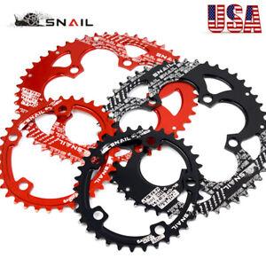 US-110BCD-50-35T-Double-Oval-Chainring-Road-Folding-Bike-Chainwheel-Crankset-CNC