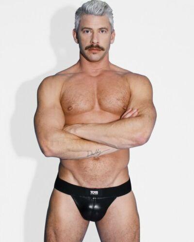 Tom of Finland Leather Jock Strap Bondage Adult Large Extra Large L-XL Stud Kink
