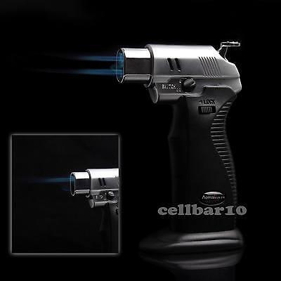 1300°C/2500°F Soldering Double Flame Welding Torch Cigar Cigarette Lighter