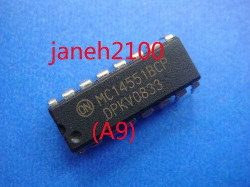 A9 20PC MC14551BCP MC14551 Quad 2-channel analog multi IC MOT