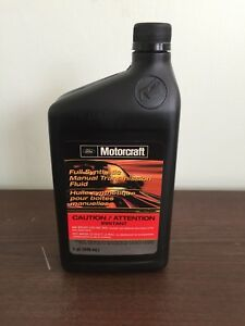 Ford genuine ford fluid xt-m5-qs full synthetic manual.