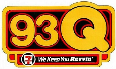 "93Q /""HERB YOU MUST BE JOKING!/"" Vintage 1986 Burger King Bumper Sticker"
