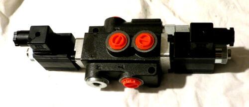 4//3 Wege  E .Steuerventil 24 V.//1 Sektio50 L //für Doppelwirk zylinder