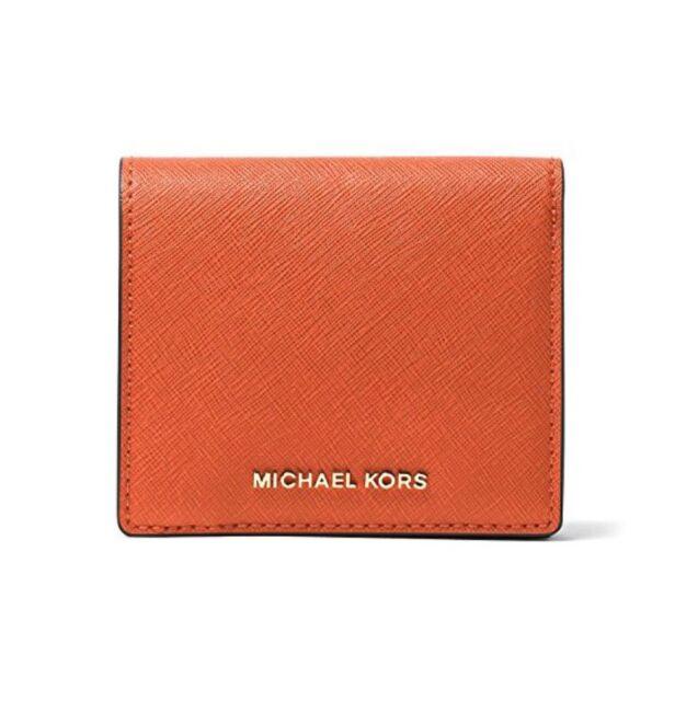 718fec6fc087 MICHAEL Michael Kors Women's Jet Set Carry All Card Case Orange