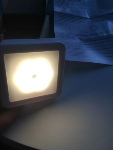 Details about  /Night Light Smart Motion Sensor LED Night Lamp Battery Operated WC Bedside Lamp