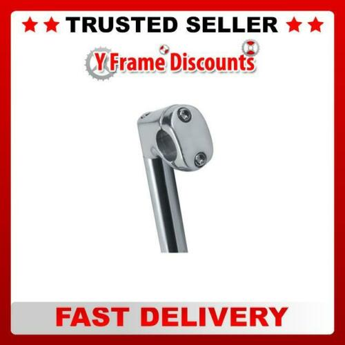 Raleigh Bikes Short Reach Bicycle Handlebar Stem Quill Fitting Silver
