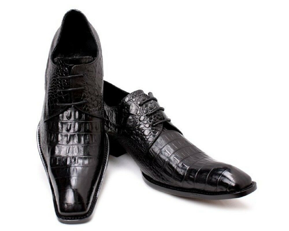 Uomo Lace Lace Lace Up Square Toe British Pelle Dress Oxford Busines Scarpe Formal Casual 31c44b